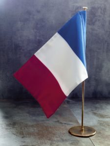 drapeau-france-double-mat-laiton